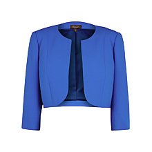 Buy Alexon Crepe Jacket, Blue Online at johnlewis.com