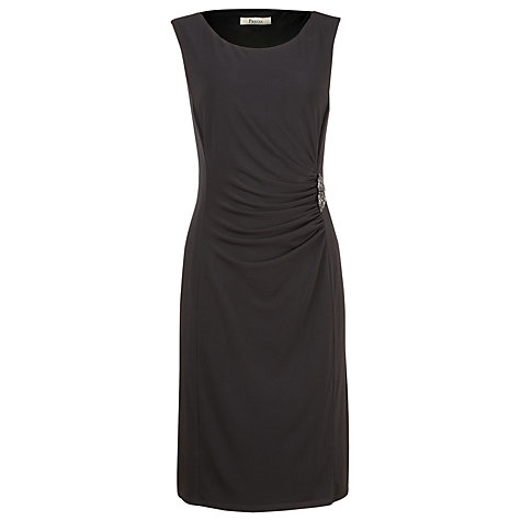Buy Precis Petite Crystal Embellished Waist Dress, Black Online at johnlewis.com