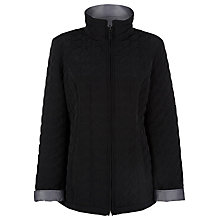 Buy Precis Petite Reversible Rain Coat, Black/Grey Online at johnlewis.com