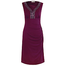 Buy Precis Petite Embellished Dress, Pink Online at johnlewis.com