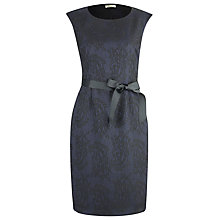 Buy Precis Petite Lace Dress, Grey Online at johnlewis.com