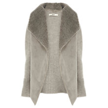 Buy Oasis Faux Shearling Cardigan Online at johnlewis.com