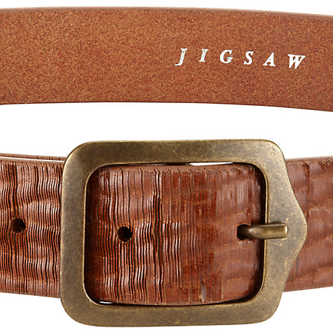 Buy Jigsaw Wembley Belt Online at johnlewis.com
