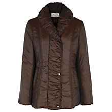 Buy Precis Petite Quilt Puffer Jacket, Brown Online at johnlewis.com