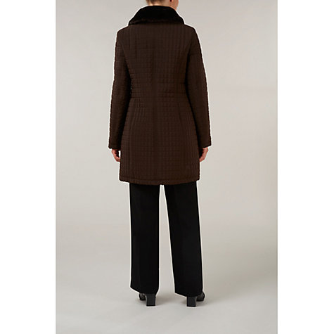 Buy Precis Petite Quilted 3/4 Length Coat Online at johnlewis.com
