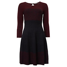Buy Jigsaw Skater Dress, Red Online at johnlewis.com