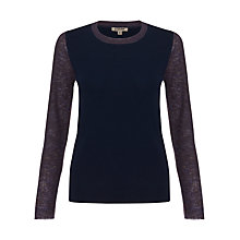 Buy Jigsaw Crew Neck Jumper Online at johnlewis.com