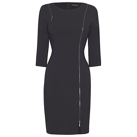 Buy James Lakeland 3/4 Length Sleeve Dress, Grey Online at johnlewis.com