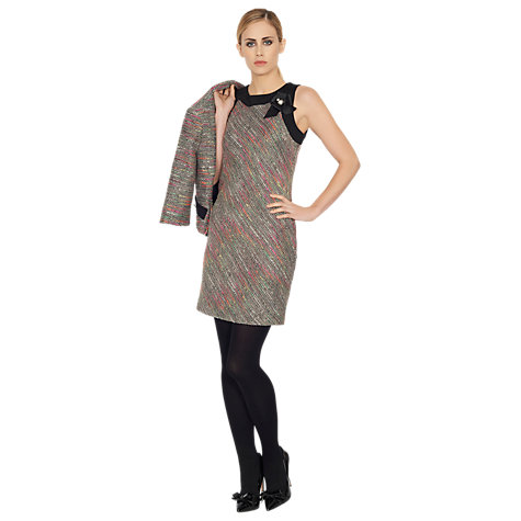 Buy James Lakeland Flash Colour Dress, Black Online at johnlewis.com