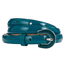 Buy Collection WEEKEND by John Lewis Emamel Buckle Skinny Belt Online at johnlewis.com