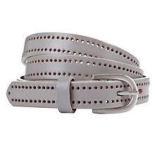 Buy COLLECTION by John Lewis Jolie Punchout Leather Belt Online at johnlewis.com