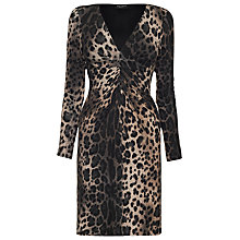 Buy James Lakeland Leopard Print Dress, Leopard Brown Online at johnlewis.com