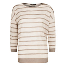Buy Mango Metallic Striped Sweater Online at johnlewis.com
