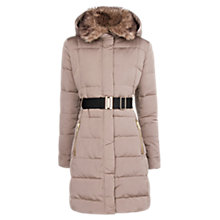 Buy Mango Belted Down Feather Coat Online at johnlewis.com