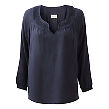 Buy East Embroidered Yoke Blouse Online at johnlewis.com