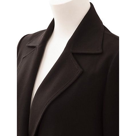 Buy East Crepe Revere Coat Online at johnlewis.com