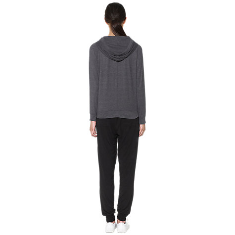 Buy Whistles Lola Lounge Hoody, Grey Online at johnlewis.com