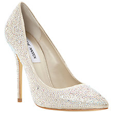 Buy Steve Madden Lenona Pointed Toe Embellished Court Shoes Online at johnlewis.com