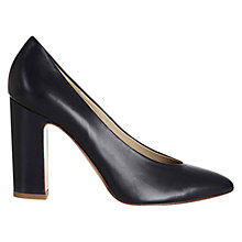 Buy Hobbs Arna Court Shoes, Navy Online at johnlewis.com