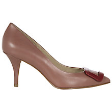 Buy Hobbs Felicia Court Shoes, Pink Online at johnlewis.com