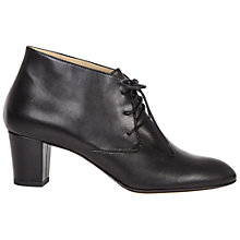 Buy Hobbs Mina Ankle Boots, Black Online at johnlewis.com