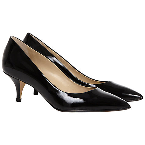 Buy Hobbs Arianne Court Shoes, Black Online at johnlewis.com
