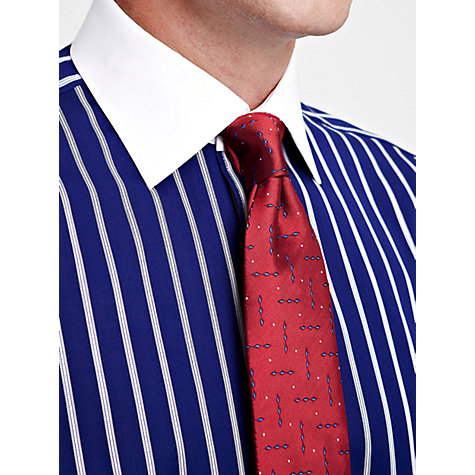 Buy Thomas Pink Stripe Contrast Collar Long Sleeve Shirt Online at johnlewis.com