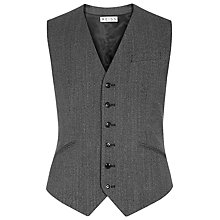 Buy Reiss Harper Herringbone Waistcoat Online at johnlewis.com