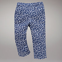 Buy John Lewis Scratch Print Trousers, Blue Online at johnlewis.com