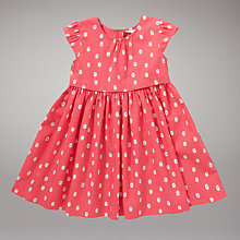 Buy John Lewis Spot and Dot Dress, Pink Online at johnlewis.com