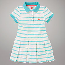Buy John Lewis Tennis Dress, Turquoise/White Online at johnlewis.com