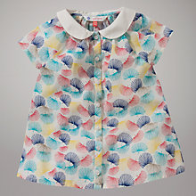 Buy John Lewis Fan Print Blouse, Multi Online at johnlewis.com