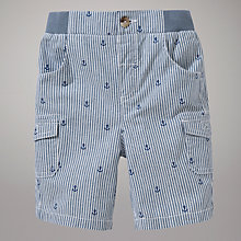 Buy John Lewis Anchor Stripe Shorts, Navy Online at johnlewis.com