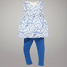 Buy John Lewis Sleeveless Top & Leggings Outfit, Blue Online at johnlewis.com