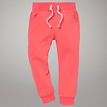 Buy John Lewis Jogger Trousers, Pink Online at johnlewis.com