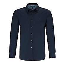 Buy Replay Long Sleeve Stretch Cotton Shirt, Night Blue Online at johnlewis.com