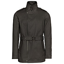 Buy Reiss Alpha Cotton Belted Jacket Online at johnlewis.com