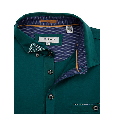 Buy Ted Baker Grainny Cross Grain Polo Shirt Online at johnlewis.com