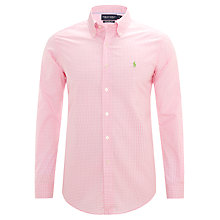 Buy Polo Golf by Ralph Lauren Gingham Check Shirt Online at johnlewis.com