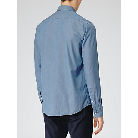 Buy Reiss Lane Washed Denim Shirt Online at johnlewis.com