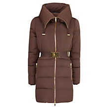 Buy Mango Belted Quilted Coat Online at johnlewis.com