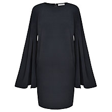 Buy Paisie Split Sleeve Shift Dress, Dark Navy Online at johnlewis.com