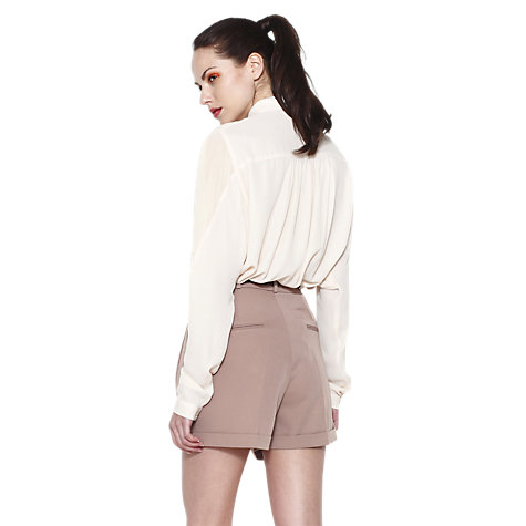 Buy Paisie Double Collar Shirt, Neutrals Online at johnlewis.com