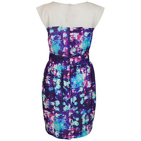 Buy Whistle & Wolf Modernist Print Colour Dress, Multi Online at johnlewis.com