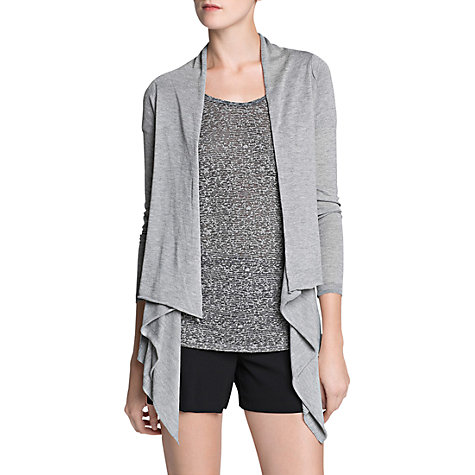 Buy Mango Waterfall Cardigan Online at johnlewis.com