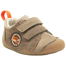 Buy Clarks Tiny Wing Trainers, Mushroom Online at johnlewis.com