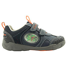 Buy Clarks Stomposaurus Trainers, Navy Online at johnlewis.com