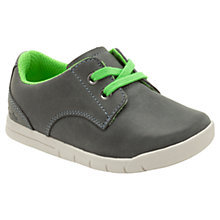 Buy Clarks Crazy Rock Fst Leather Trainers Online at johnlewis.com