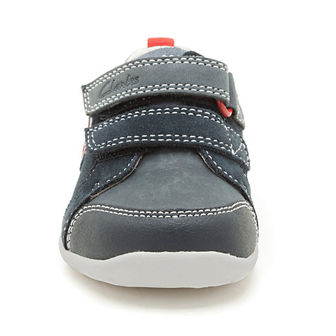 Buy Clarks Soft Plane Shoes, Navy Online at johnlewis.com