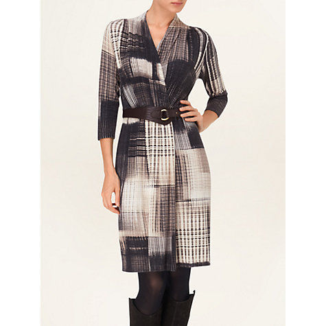 Buy Phase Eight Borgen Blurred Dress, Black/Neutral Online at johnlewis.com